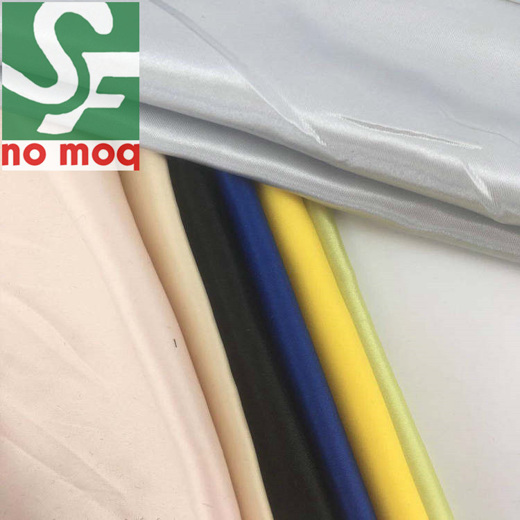 Wholesale 100% Polyester Satin Fabric for Textile Curtain / Duchess Satin Fabric