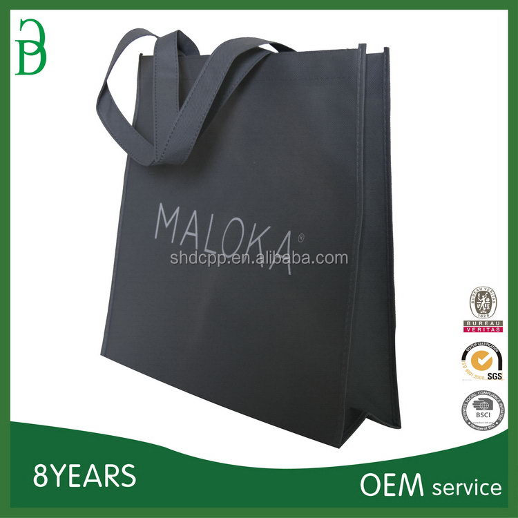Customized top sell shopping bag with pouch