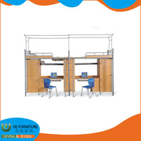 School Bedroom Multifunctional Steel Wood Dormitory
