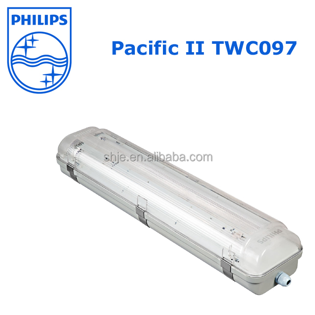 Philips Waterproof Luminaire Pacific II TCW097 TL5 2*14W/28W/35W IP65