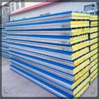 china shilong polyurethane hermal insulation color steel sheet sandwich panel