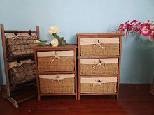 Living Room Home Woven Chest Of Drawers Design Many Small Drawers Cabinet