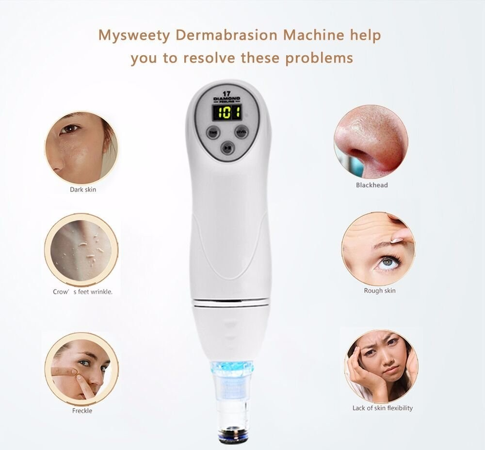 Factory price Pen Blackhead Removal Skin Peel Diamond Dermabrasion Portable Digital Diamond Microdermabrasion