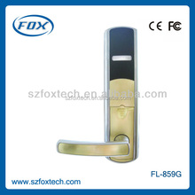 High security SS finish intelligent electronic RFID door lock reminder