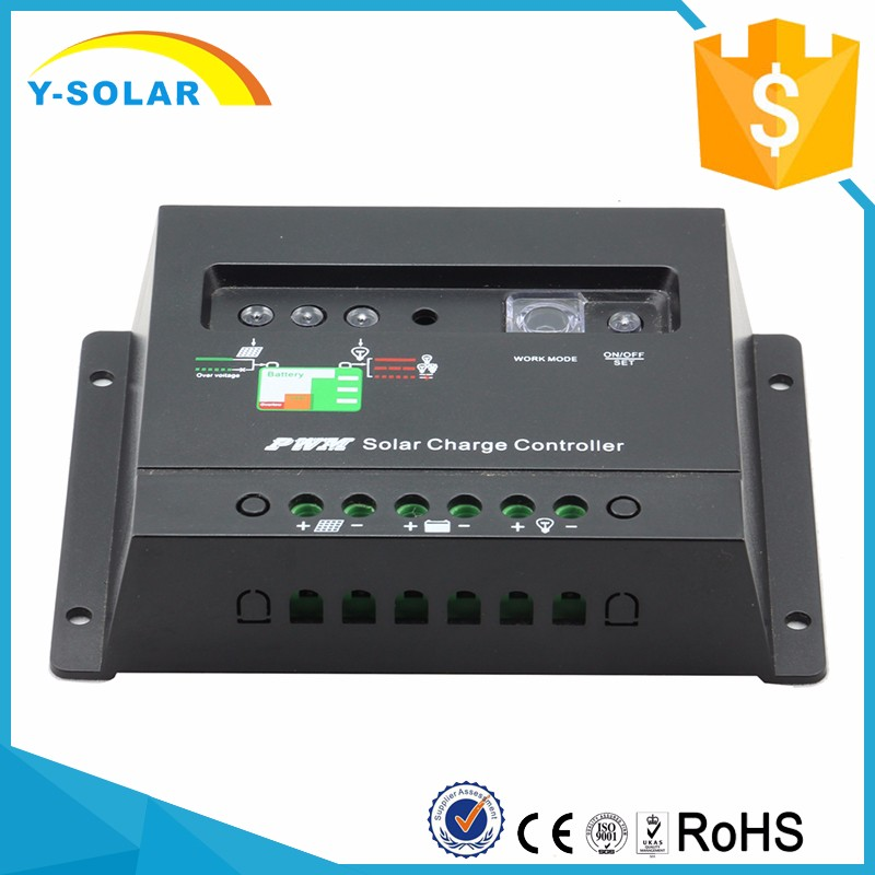 Promotional PWM 20A Solar Controller 12v/24v battery Automatic for Solar Power System