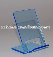 Acrylic Cell Phone Holder & Lucite Phone Display & Acrylic Mobile Phone Stand
