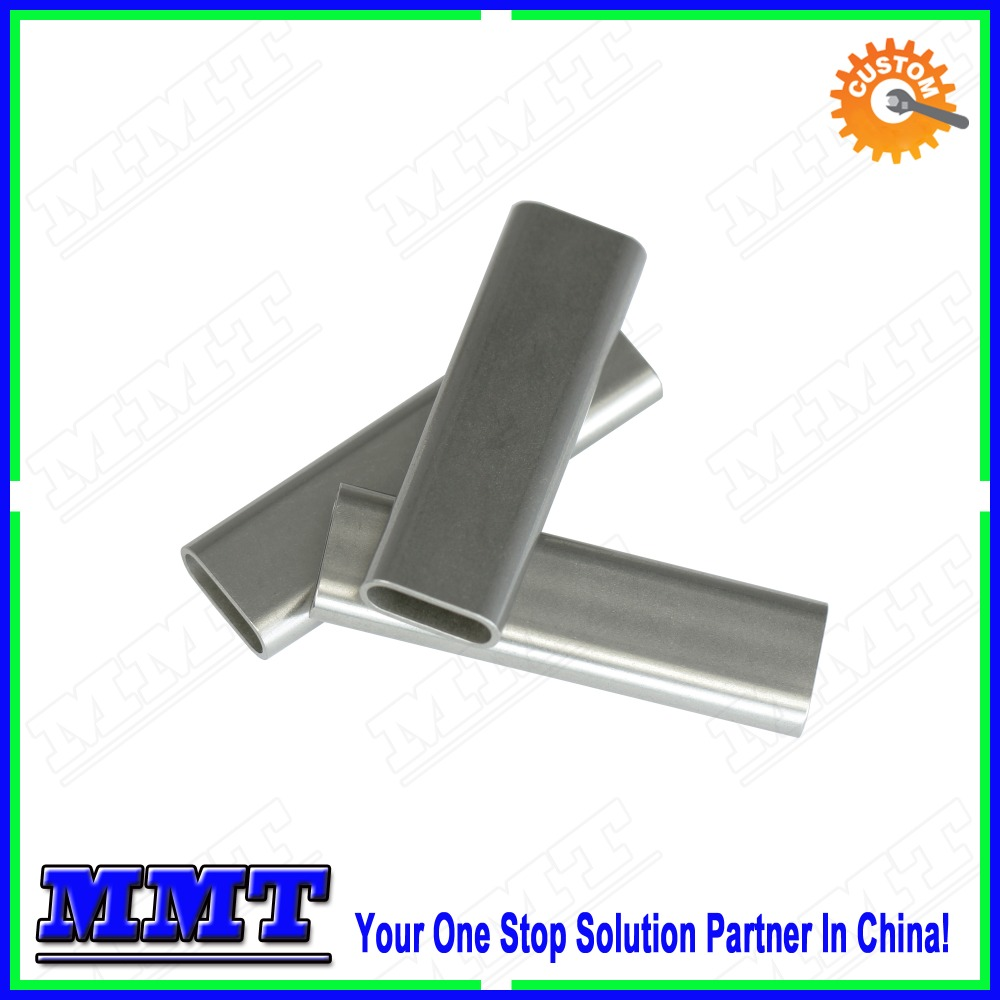 flat-oval seam integrated micro stainless steel tube for computers and electronics industry