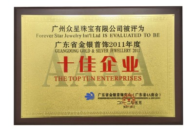 The top ten enterprises