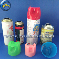 Metal Empty Aerosol Tin Plate Cans/empty spray can with nozzle