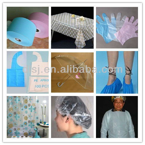 Flat and Embossed Cast Film Product Line