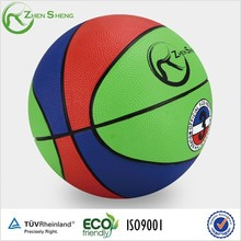Zhensheng Rubber Basketball With Better Touch Feeling and Rebounce