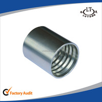 Carbon steel plate fitting 4SH hydraulic hose fittings assembly ferrule/braided hose ferrules