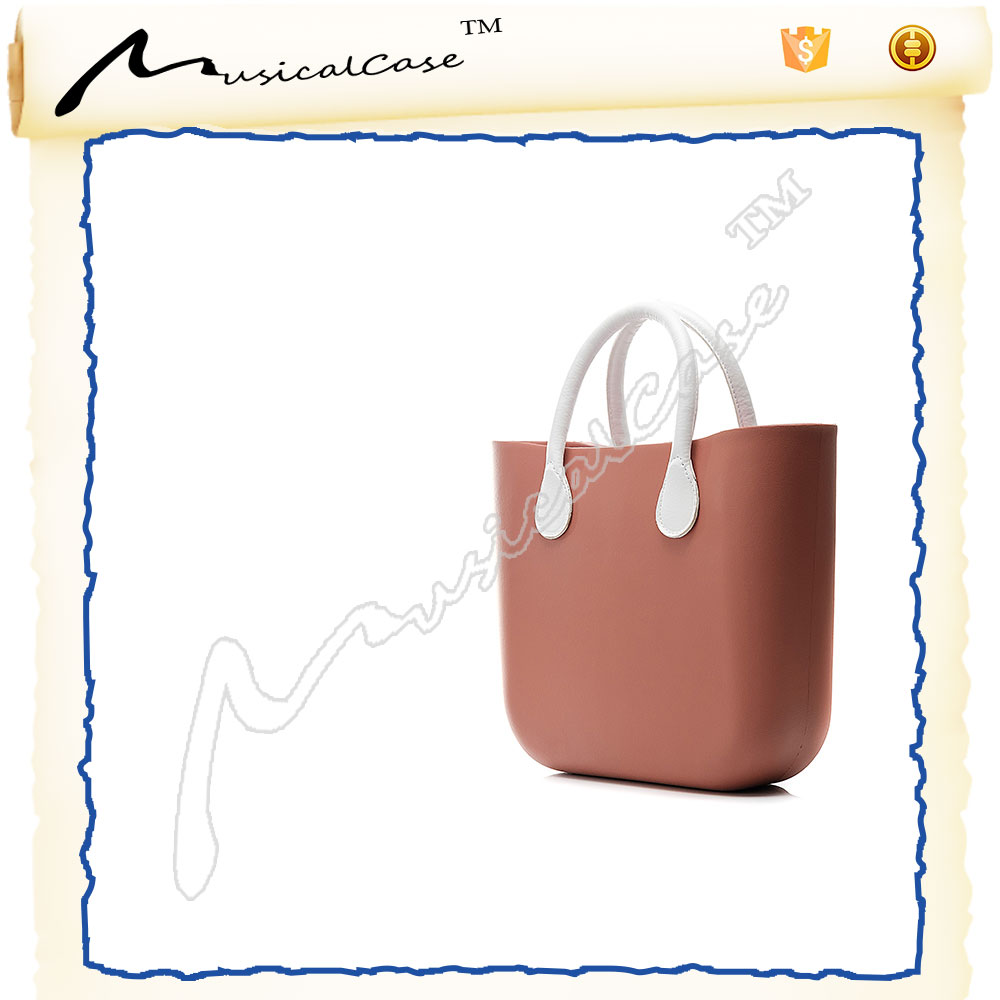 Hot Sale Silicone eva vintage handbags with inner bag and handle