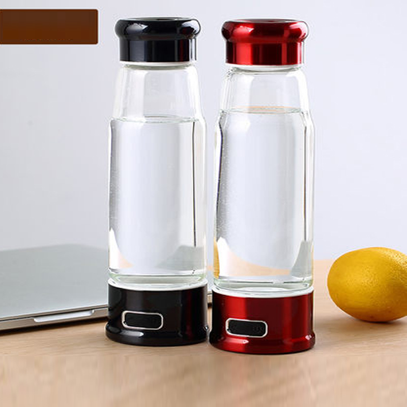 2017 newest 1200ppb 9pH FDA approved hydrogen water bottle hidrogenador de agua with factory price