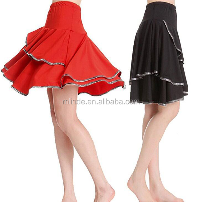 2017 New Arrivals Woman Latin Samba Jazz Square Dance Dress Latin Dancing Skirt Dance Costume Wholesale For Ladies