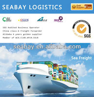 Cheap container ocean freight rates from china to europe
