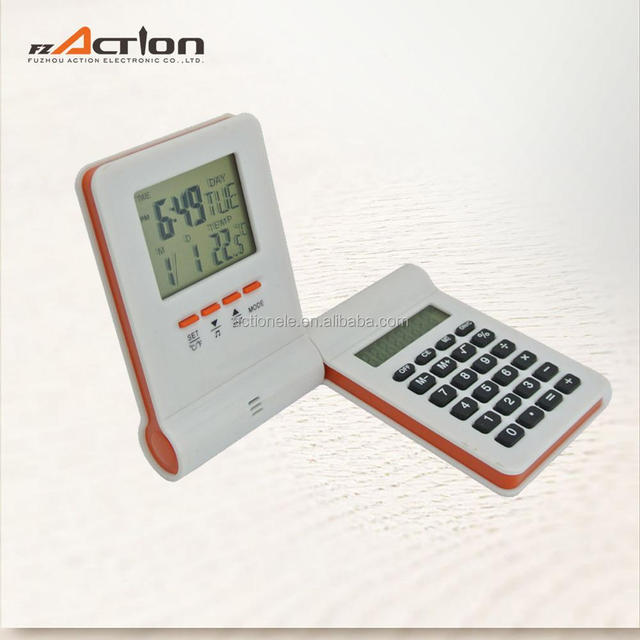 Digital Table Children Alarm Clock with Calculator