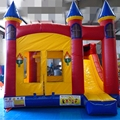 HOLA red inflatable bouncer/bouncy house for sale
