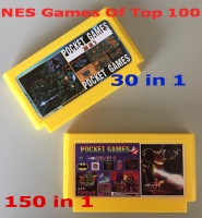 for NES Games Of Top 100, 8 bit for FC-60Pins Game Cartridge classical game card 150 in 1 + 30 in 1