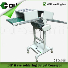 wave soldering outfeed PCB conveyor (DIP)