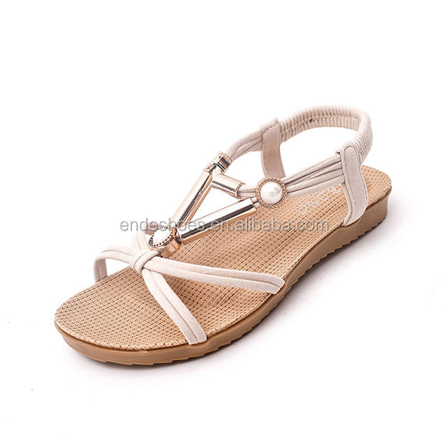fashion flat summer sandals 2016 new model women sandals