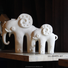 resin antique elephant figurine sculpture