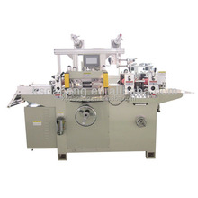 DP-320B Full-automatic Roll-Roll, Roll to sheet Adhesive Label Die-cutting Machine with Laminating and Punching