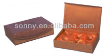 Gift box for leather package
