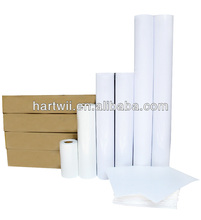 Microporous wide format photo paper