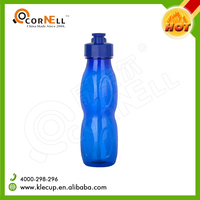 Gourd shape Color customised BPA free high quality 600ml plastic sport drinking bottle