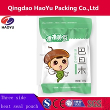 Custom printing heat seal plastic dried food packaging bag for noodles,rice,cooked food packing