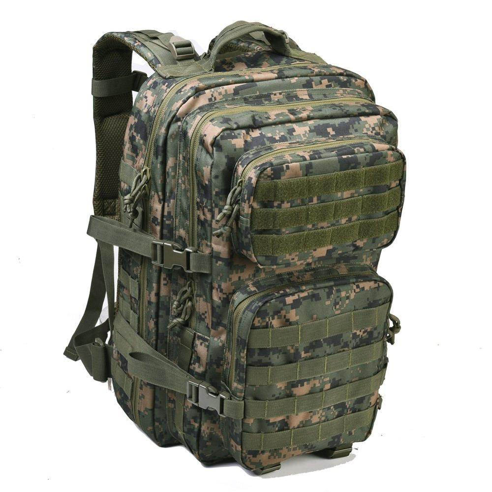 Large Army 3 Day Assault Pack Molle Bug Out camouflage Military Tactical  Backpacks for Outdoor Hiking a40dbd7b00