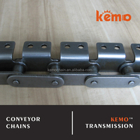 Industrial use small roller type with attachment AA-2 double pitch conveyor chain