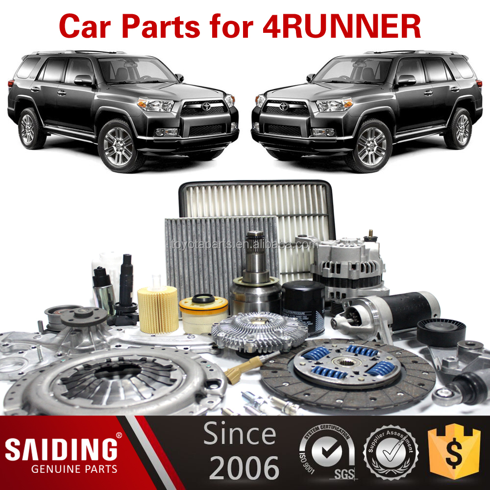 Car for toyota parts Spare Parts for Toyota 4RUNNER KZN185 VZN18# RZN18# GRN21 KZN215 GRN28#