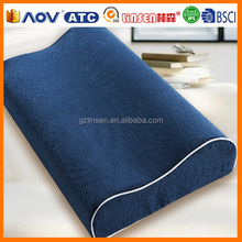 Guangzhou Linsen brand wholesale memory foam chinese silk cover pillows