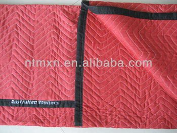 Wholesale!Polyester Red Color waterproof Moving Blanket, Moving Pad, waterpFurniture Pad, Storage Pad, Utility Pad, high quality