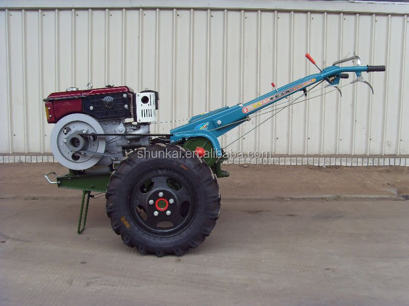 Two Wheel Small Power Belt Transmission 12HP Walking Tractor