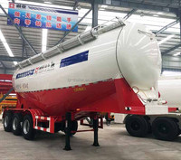 China New Quality Tri Axles Bulk Cement Tank Semi Truck Trailer for sales