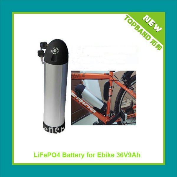 New 48v 6Ah E Bicycle Battery Pack with Aluminum Bottle Case Factory Price