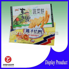 custom polythene food polyester viscose packaging bag for snack wholesale 3.5mil