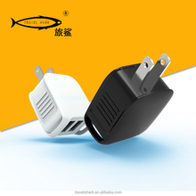 Hot Portable fast mobile charger,wholesale 2A 2 usb oem mobile phone charger