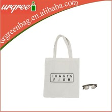 pure white small canvas tote bags farm bag wholesale