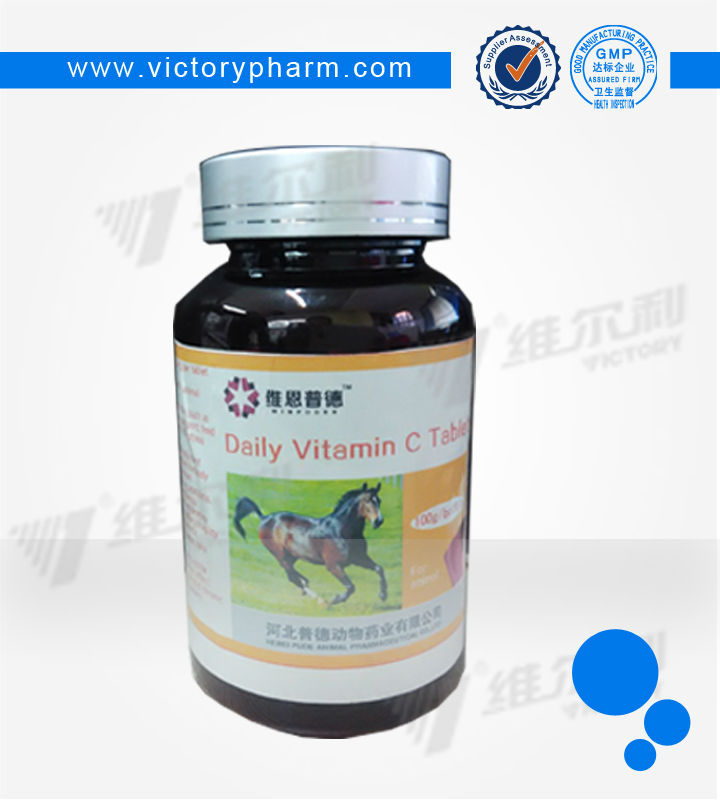 Horse Nutrtional medicine Vitamin C Chewable tablet