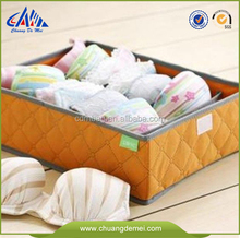 2014 Non-woven clear storage box undergarment non woven box foldable custom makeup and tool outdoor and slide storage box