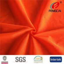 Flourescent anti-static fabric used safety garments