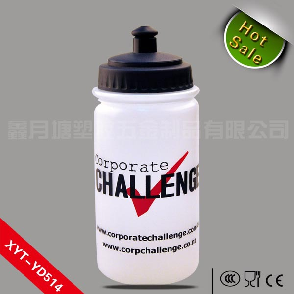 Wide mouth hot sale honey squeeze bottle/ squeezable water bottle OEM
