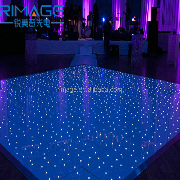 Fashionable LED dance floor for Club Disco Dj Bar Stage Lighting led mirror light up video dance floor