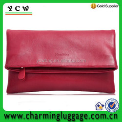 New design evening clutch bag party bag for lady leather clutch bags