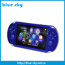 Popular portable multimedia player mp5 games with games,camera ,FM radio