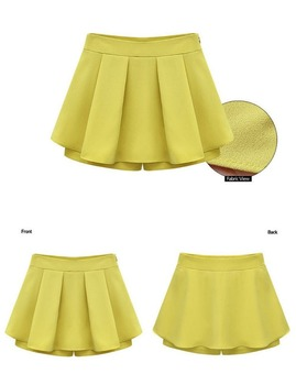 Young Girls European style fashion casual large size skirt/dress pants wholesale clothing